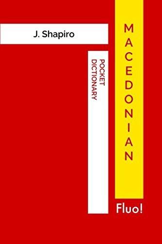 Macedonian Pocket Dictionary