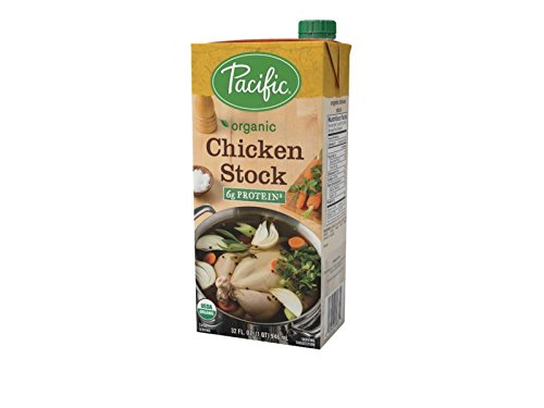 Pacific Foods Organic Chicken Culinary Stock, 32 Ounce (Pack of 12)