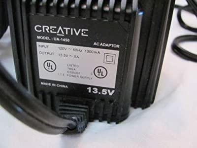 Creative AC Adapter Power Supply Charger 13.5V 5A Model: UA-1450