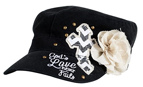God's Love Flower Christian Hat