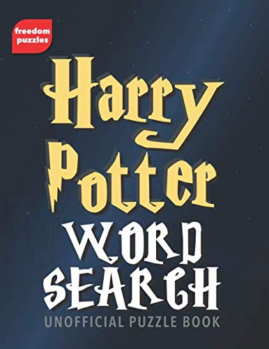 Harry Potter Word Search: Find over 1,600 words from J.K Rowling