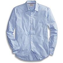 Goodthreads Men's Standard-Fit Long-Sleeve End on End Shirt