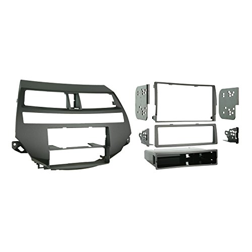 Metra 99-7875 Single/Double DIN Installation Kit for 2008-2009 Honda Accord Vehicles with Dual-Zone Climate Controls (Dual Zone Climate Controls)