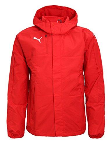 PUMA Mens Rain Jacket Veloce Windbreaker Hooded Raincoat Sports Jacket 654640