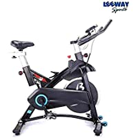 LEEWAY RSF L003 Fitness Spinning Bike Exercise Cycle Fly Wheel, 14 Kg