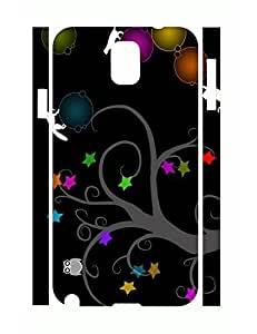 Personalized Elegant Tree Pattern Tough Cell Phone Protective Case for Samsung Galaxy Note 3 N9005