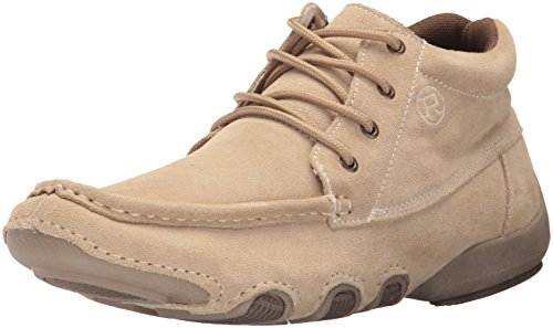 Roper Men's High Country Cruisers Chukka Boot, Tan Suede, 11 D US - Country Cruiser