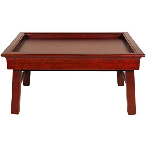 Oriental Furniture Rosewood Tea Tray (Table Asian Tea)
