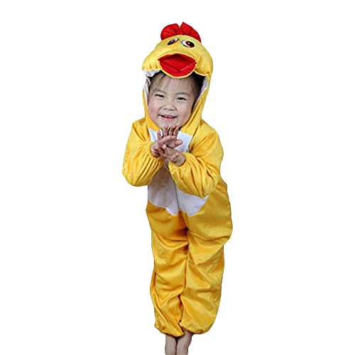 Olaf Toddler Halloween Costumes (Moolecole Halloween Christmas Kids Costume Toddler Baby Animal Costume Duck M)