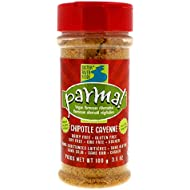 Parma! Vegan Parmesan - Chipotle Cayenne, Dairy-Free, Soy-Free and Gluten-Free Vegan Cheese, Plant-Based Superfood, Kosher (3.5 oz)