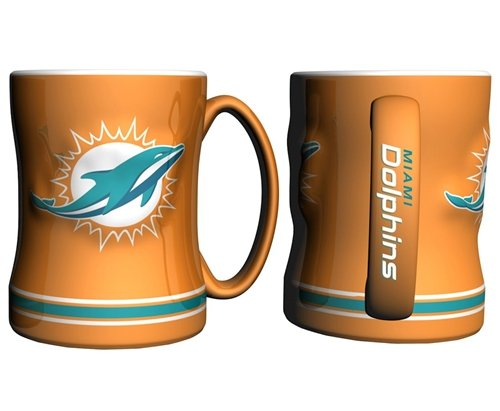 Miami Dolphins Coffee Mug Sculpted product image