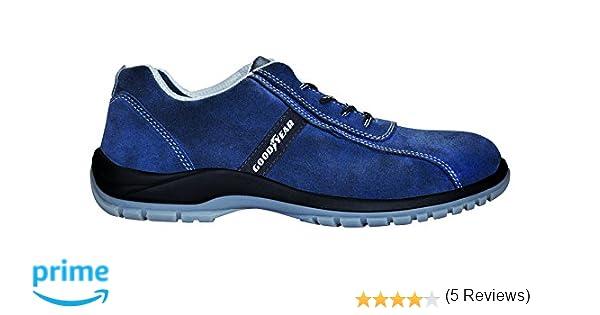 Goodyear G138/3052C - Calzado (piel serraje, talla 39) color azul: Amazon.es: Bricolaje y herramientas