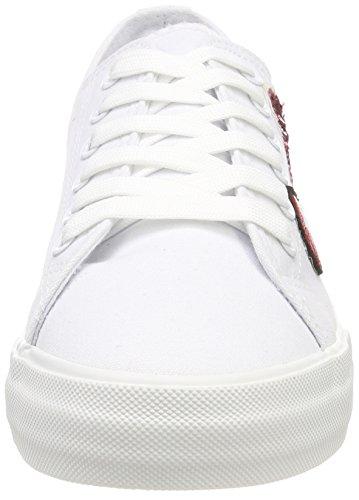 white Basses Baskets Tamaris Femme Blanc 23633 Valentin XHE067qwx