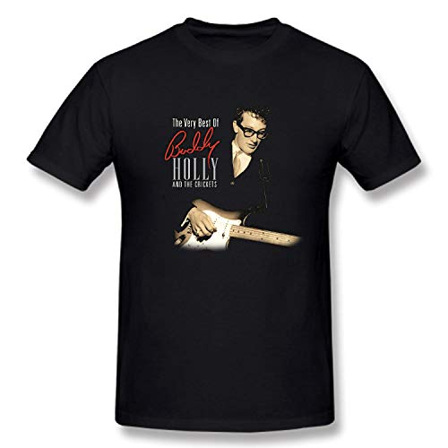 WZSYOOL Buddy T-Shirts Holly Cotton Men's T-Shirts Short Sleeve