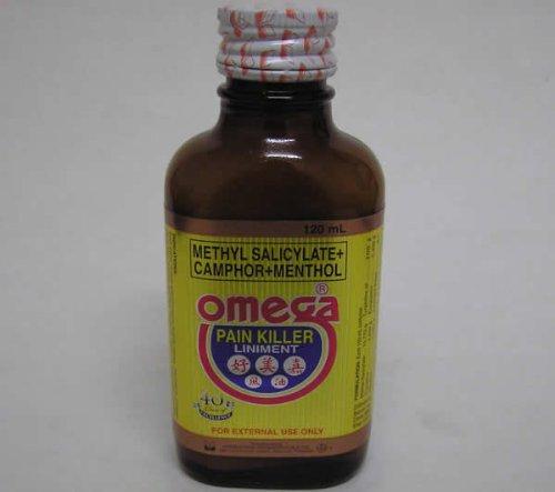La douleur tueur Omega Liniment 120 ml Bouteille
