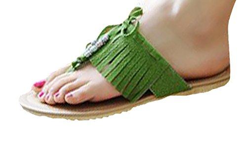 Insun - Sandalias de vestir de Material Sintético para mujer Verde - verde