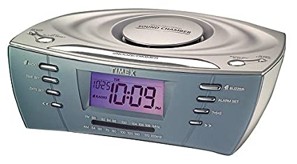 amazon com timex rainbow display clock radio w mp3 port t439s home rh amazon com