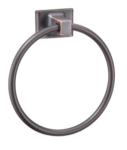 Hardware House 689539 Sunset Collection Towel Ring, Classic Bronze