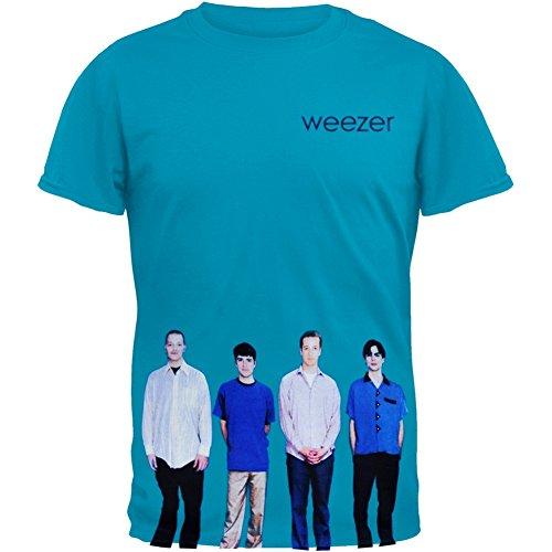 Offizielles Weezer–Blue Album–Baumwolle T Shirt