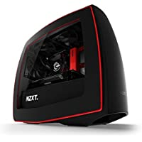 Centaurus Rogue 2 ITX Gaming Computer - Intel i7 7700K Quad 4.5GHz OC, 16GB RAM, Nvidia GTX 1080 8GB, 500GB SSD + 2TB HDD, Liquid Cooler, NZXT Manta, Windows 10 / VR Ready Compact Gaming Desktop