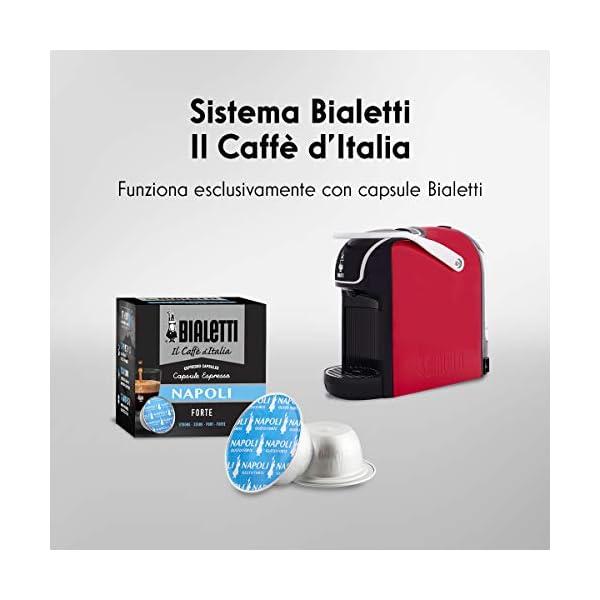 Bialetti Break - Macchina Caffè Espresso a Capsule in Alluminio con sistema Bialetti il Caffè d'Italia, Design compatto… 6