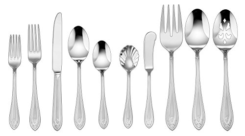 - Cuisinart CF-01-AE45 Aeris Collection 45 Piece Flatware Set, Stainless Steel