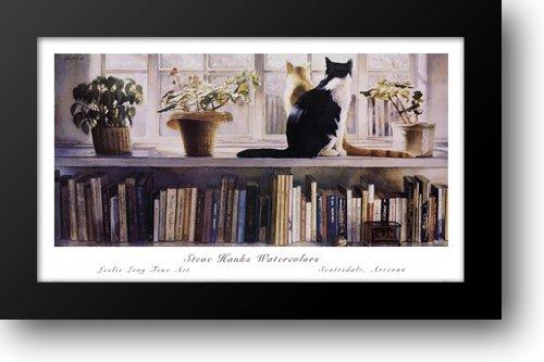 Bookends 44x27 Framed Art Print by Hanks, Steve