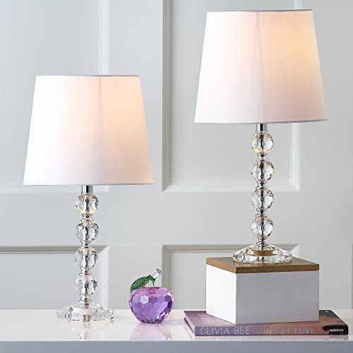Superieur Safavieh Lighting Collection Nola Stacked Crystal Ball 16 Inch Table Lamp  (Set Of 2)
