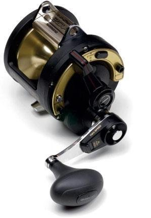 Shimano TLD 20 II A 2 Speed Trolling Multiplier Offshore Fishing Reel, TLD20IIA (Triton Lever Reel Drag)
