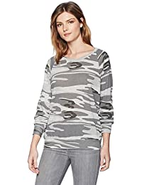 Women's Printed Slouchy Pullover