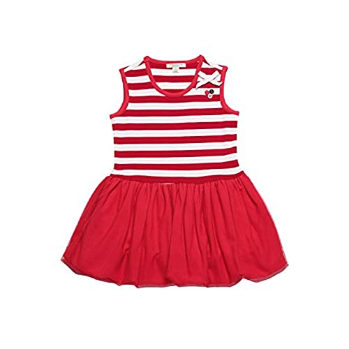 girls tutu dress beautiful holiday dress pretty birthday dress fancy christmas dress summer sleeveless striped flare dress red 12 18 months - 12 Month Christmas Dress
