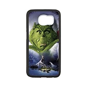 The Grinch Christmas Samsung Galaxy S6 Cell Phone Case White phone component RT_294049