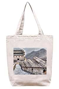 La Gran Muralla en hdr–algodón Canvas Tote Bag