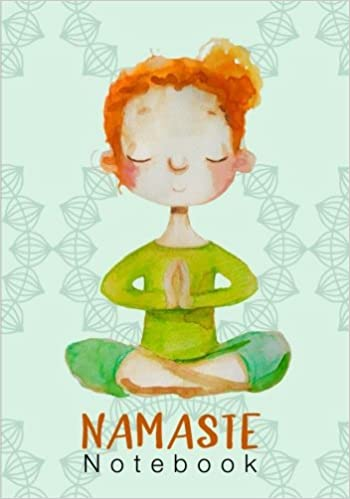 Namaste Notebook: A Ruled Notebook With A Goal Planner And A ...