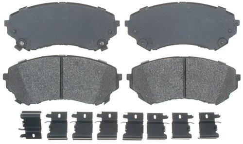 Raybestos ATD1331M Advanced Technology Semi-Metallic Disc Brake Pad Set