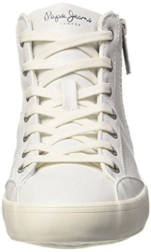 Pepe Jeans Damen Clinton Break Sneaker Weiß (WHITE 800)