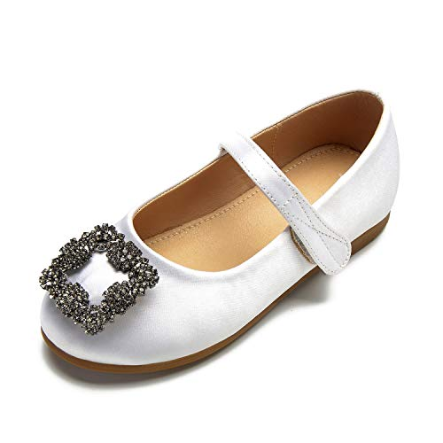 Children's Formal Round Closed White Buckle Wedding Toe Party YC Shoes Platform Women L New qzxOnvEwxC