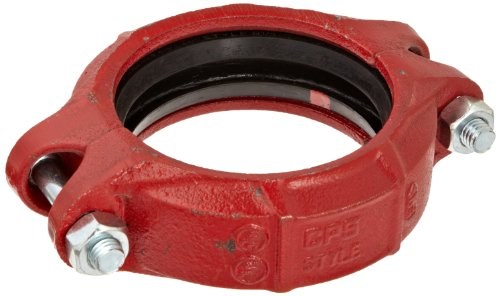 Dixon L03 Ductile Iron Series L Pipe and Welding Fitting, Quick Release Coupling with EPDM Gasket, 3
