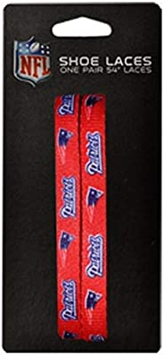 NFL New England Patriots 54-Inch Laceups Shoe Laces