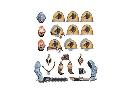 Games Workshop Warhammer 40K: Space Wolves - Primaris Upgrades