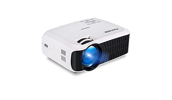 2000 Lúmenes LED Multimedia Video Proyector Soporta 1080P Mini ...