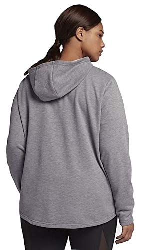 b66e713e7ac43 NIKE Plus Size Full Zip French Terry Jacket Gray (2X) at Amazon Women s  Clothing store