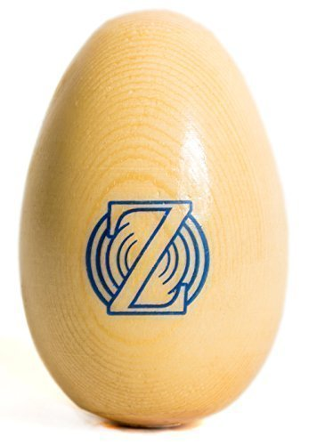 Zenit Audio Egg Shaker – Premium Professional Wood Egg Shakers and Musical Instruments for Baby - Percussion Toy and Instrument for Kids and Babies - Wooden Egg Rhythm Rattle - Unbreakable Safe Non-Toxic Mellow Sound Music Toys for Toddler and Kid