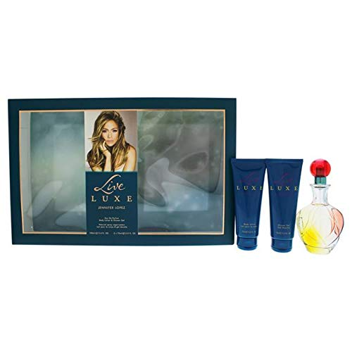 Jennifer Lopez Live Luxe By Jennifer Lopez For Women - 3 Pc Gift Set 3.4oz Edp Spray, 2.5oz Shower Gel, 2.5oz Body ()