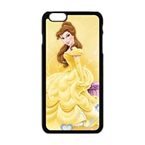 Happy Beauty and the Beast lovely girl Cell Phone Case for Iphone 6 Plus