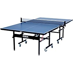 JOOLA REFURBISHED Inside 15mm Table Tennis Table with Net Set - Features Quick 10-Min Assembly, Playback Mode, Foldable Halves