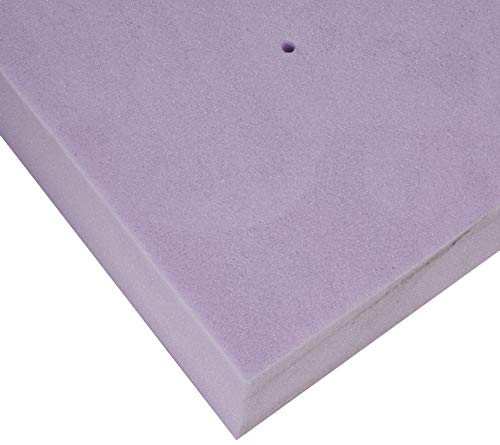 LUCID Ventilated Design 4 Inch Lavender Infused Memory Foam Mattress Topper, Queen,