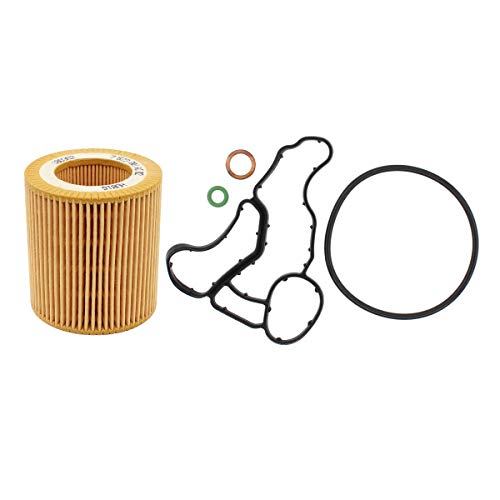NewYall Engine Oil Filter w/Housing Gasket