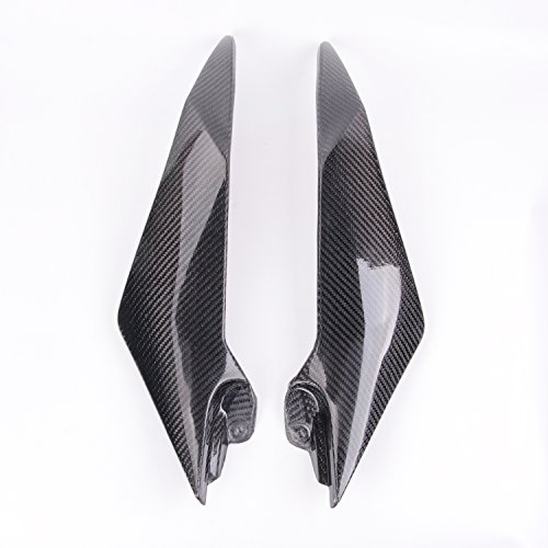 Fairing Fiber Carbon Motorcycle - Sunny New Carbon Fiber Tank Side Covers Panels Fairing For Yamaha YZF R6 08-2015 09 10