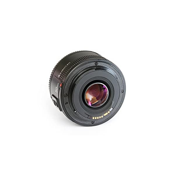 RetinaPix Yongnuo_ YN50 mm F1.8 Lens Large Aperture Auto Focus Lens for Canon EF Mount EOS Cameras